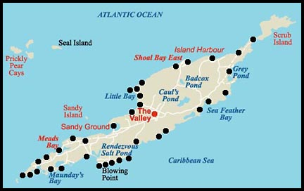 Anguilla Map